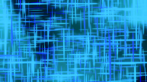 Blue Turquoise Abstract Data Motion Background Loo Animation
