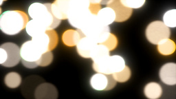 Falling lights sparks slow motion defocused abstra Animation