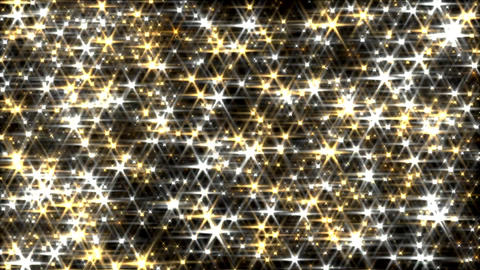 Glitter background loop gold and silver lens flare Animation
