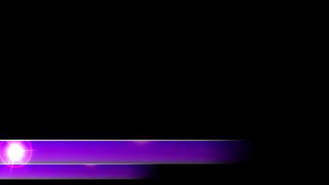 Lower 3rd news corporate dual third l3rd purple CG動画