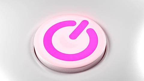 Power button switch turn off pink purple Animation