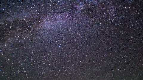 In The Wake Of The Milky Way. Pamir, Tajikistan. 1 stock footage