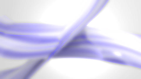 Blue White Abstract Background Loop Defocused Styl stock footage