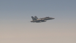 HD2009-6-3-15 aerial F18s Stock Video Footage