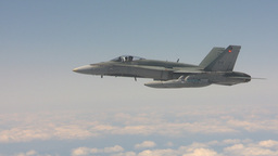 HD2009-6-3-21 aerial F18s Stock Video Footage