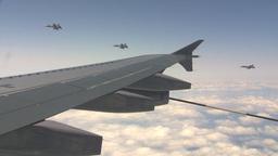 HD2009-6-3-24 aerial F18s peel off Stock Video Footage