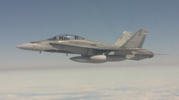 HD2009-6-3-28 aerial F18s Stock Video Footage
