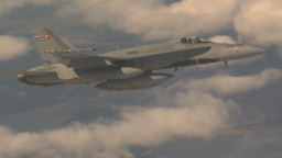 HD2009-6-4-7 Aerial F18 Stock Video Footage