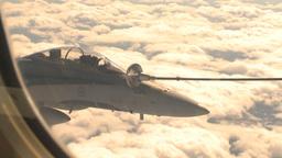 HD2009-6-4-11 Aerial F18 refuel Stock Video Footage