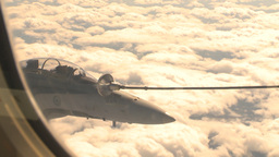 HD2009-6-4-11 Aerial F18 refuel Stock Video Footage