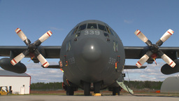 HD2009-6-4-27 C130 Herc Stock Video Footage