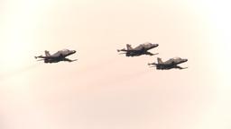 HD2009-6-6-2 Alphajet fly x3 Stock Video Footage