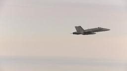 HD2009-6-6-16 F18 takeoff Stock Video Footage