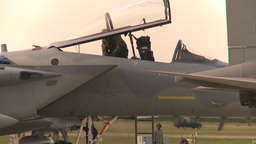 HD2009-6-6-28 apron F15 and crewman Footage