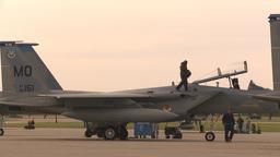 HD2009-6-6-30 apron F15 line Stock Video Footage