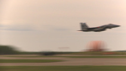 HD2009-6-6-58 F15 takeoff Stock Video Footage