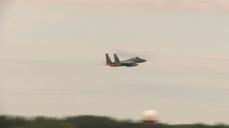 HD2009-6-6-58 F15 takeoff Stock Video Footage