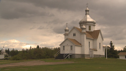 HD2009-6-7-22 Ukranian catholic church montage Stock Video Footage