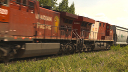 HD2009-6-8-6 frieght train Stock Video Footage
