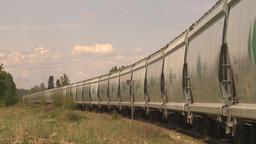 HD2009-6-8-8 frieght train Stock Video Footage
