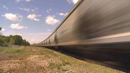 HD2009-6-8-10 frieght train TL trippy Footage