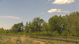 HD2009-6-8-20 frieght train Stock Video Footage