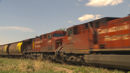 HD2009-6-8-20 frieght train Stock Video Footage