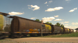 HD2009-6-8-22 frieght train Footage