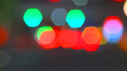 HD2009-6-8-26 abstract out of focus lights night Stock Video Footage