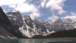 HD2009-6-9-3 Moraine lake TL Stock Video Footage