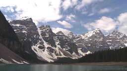 HD2009-6-9-3 Moraine lake TL Stock Video Footage