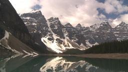 HD2009-6-9-15 Moraine lake Stock Video Footage