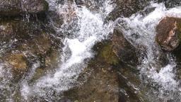 HD2009-6-9-21 fast stream slowmo shutter Stock Video Footage