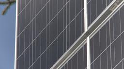 HD2009-6-9-29 solar panel Stock Video Footage