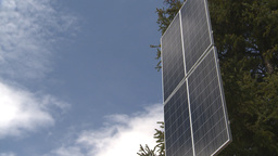 HD2009-6-9-29 solar panel Stock Video Footage