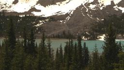 HD2009-6-9-35 Mountains lake snow Stock Video Footage