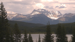 HD2009-6-10-6 mountain and lake Stock Video Footage