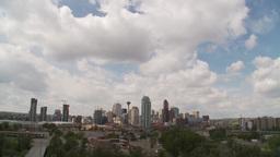 HD2009-6-11-6RC Calgary skyline TL Stock Video Footage