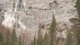 HD2009-6-11-16RC 60i Banff Heli rescue Stock Video Footage