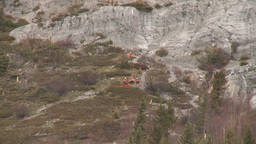 HD2009-6-11-18RC 60i Banff Heli rescue Stock Video Footage