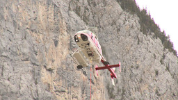 HD2009-6-11-20RC 60i Banff Heli rescue Stock Video Footage
