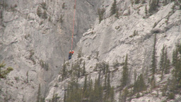 HD2009-6-11-22RC 60i Banff Heli rescue Stock Video Footage