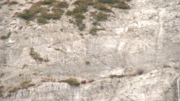 HD2009-6-11-24RC 60i Banff Heli rescue Stock Video Footage