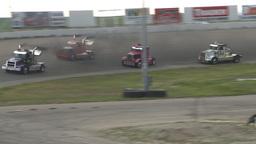 HD2009-6-12-3 Big rig race Stock Video Footage