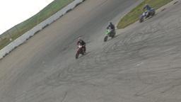 HD2009-6-12-7 motocross bike race Stock Video Footage