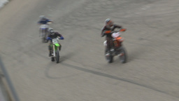 HD2009-6-12-7 motocross bike race Stock Video Footage