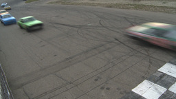 HD2009-6-12-11 stock car race Footage