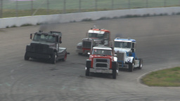 HD2009-6-12-15 Big rig race Footage