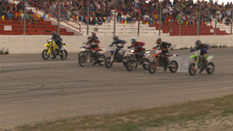 HD2009-6-12-17 motocross bike race Footage