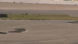 HD2009-6-12-19 motocross bike race Stock Video Footage